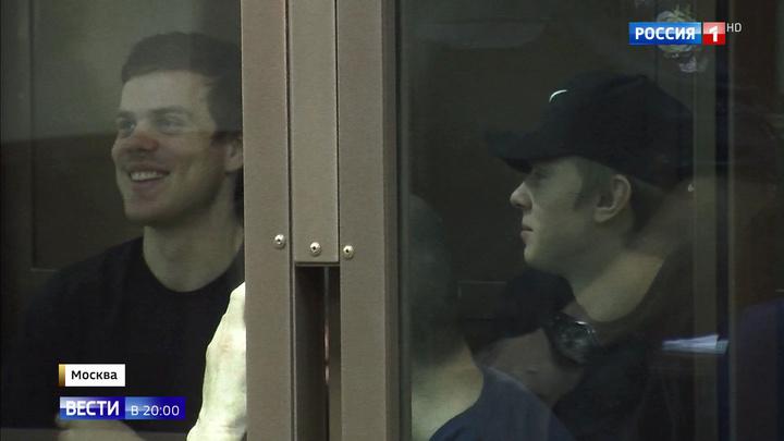 Мосгорсуд вынес новый приговор футболистам Александру Кокорину и Павлу Мамаеву