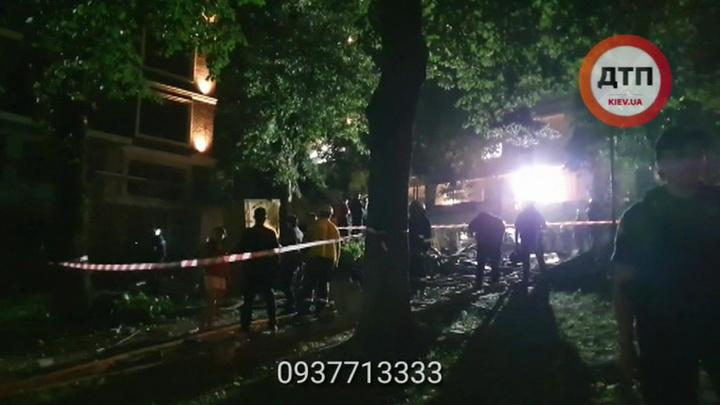 Взрыв в центре Киева: обошлось без жертв и пострадавших