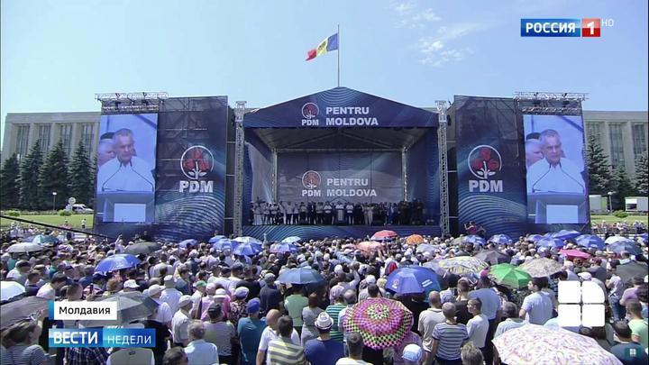 Праздник вместо протеста: кризис в Молдавии рассасывается бескровно