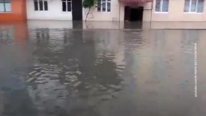 Назрань затопило