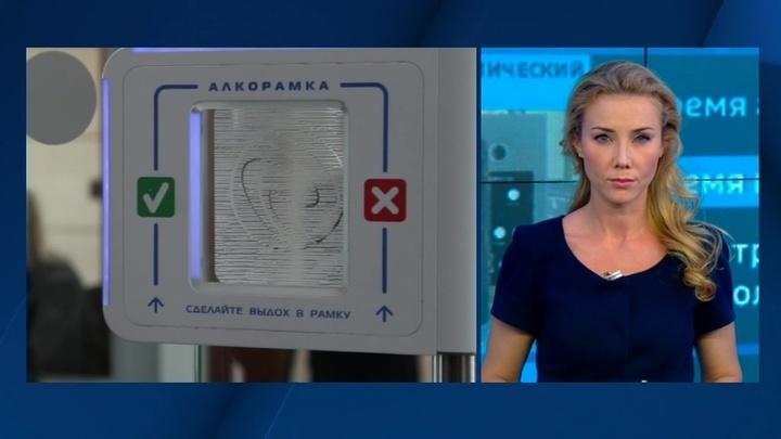 В аэропорту Домодедово поставили алкорамки