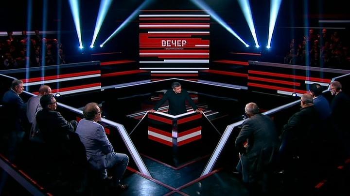 Вечер с Владимиром Соловьевым. Эфир от 18 июня 2019 года