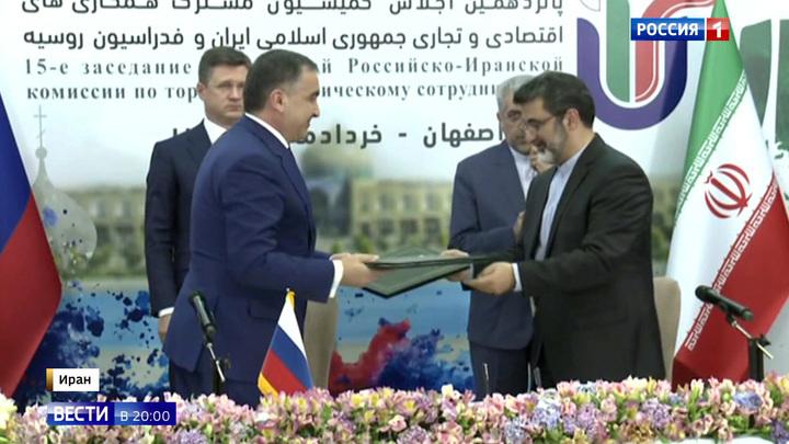 Россия наращивает сотрудничество с Ираном