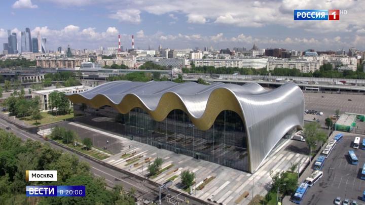 Самый большой в мире Дворец гимнастики открылся в Москве
