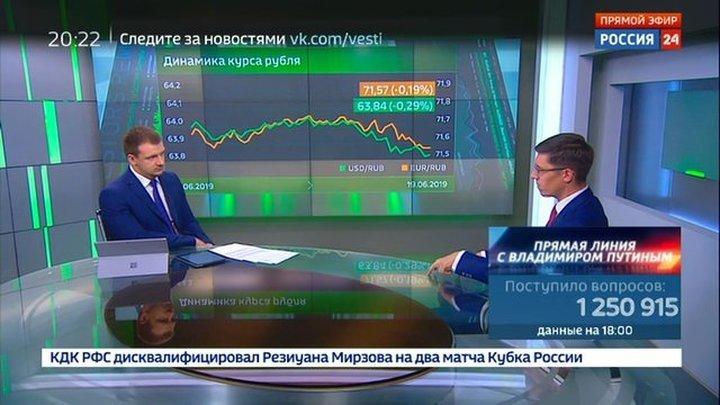 Экономика. Курс дня, 19 июня 2019 года