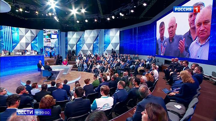 """""""Разрешите поднять бокал"""": Путин вспомнил о героизме дагестанцев"""