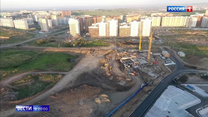 В Красноярске вместо жилого дома все-таки построят детсад и школу