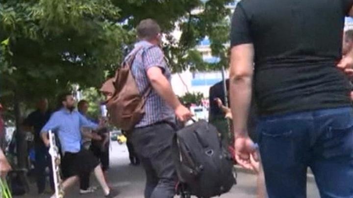 """Тбилисские националисты напали на съемочную группу """"России 24"""""""