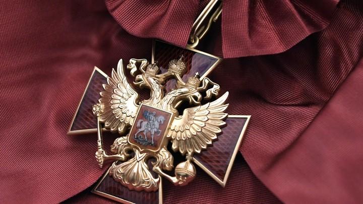 Путин подписал указ о награждении ряда россиян и представителей других государств