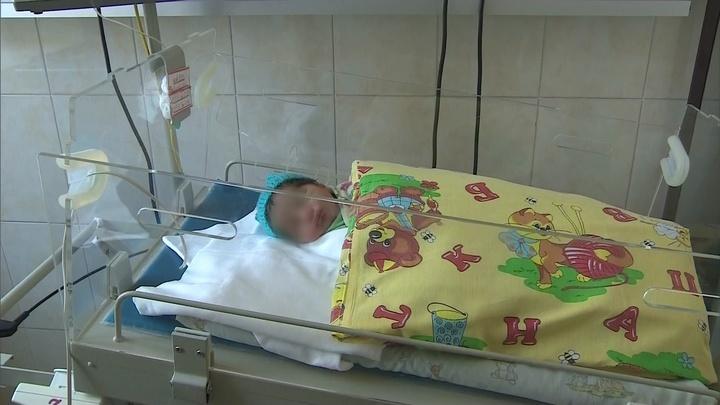 В Питере пес спас новорожденную малышку