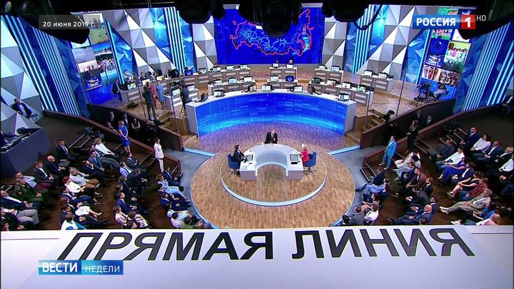 """Печальные министры и """"банда патриотов"""": президент ответил на вопросы россиян"""