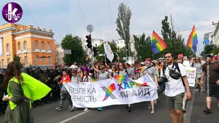 """""""Угрожали спалить грузовик и оторвать голову"""": как прошел гей-парад в Киеве"""