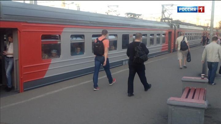 Электрички Рижского направления ходят с увеличенными интервалами из-за сбоя