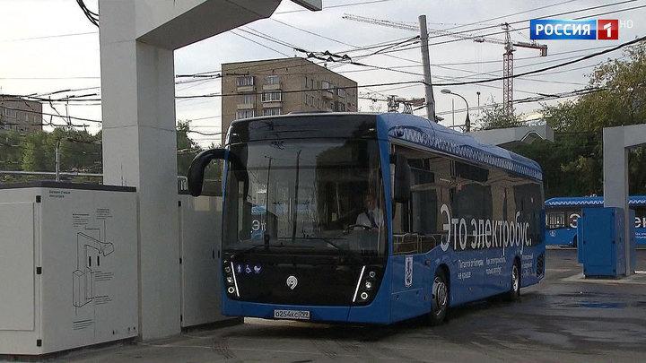 Электробусов в столице становится больше
