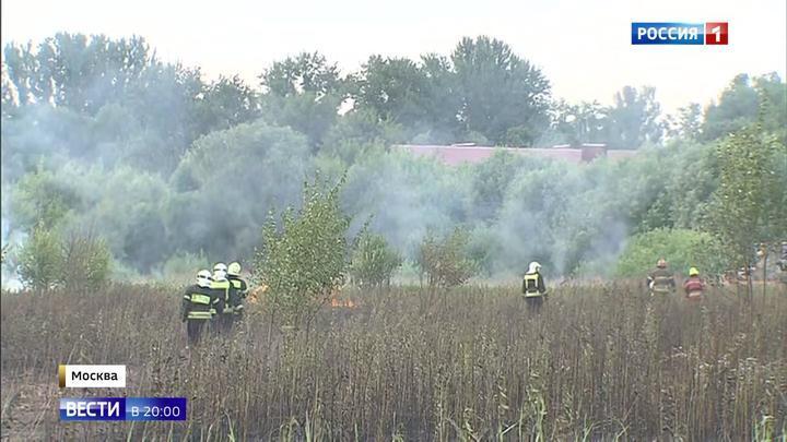 Пожару в Терехове на западе Москвы присвоен повышенный номер сложности