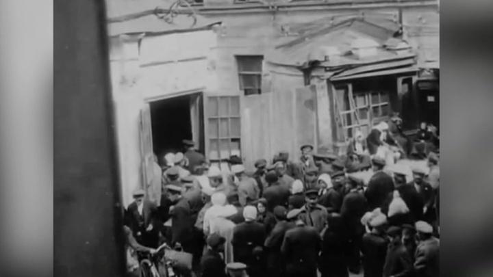 События в Чесменском дворце в Петрограде