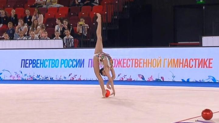 Грация и красота: в Лужниках стартовал чемпионат России по художественной гимнастике