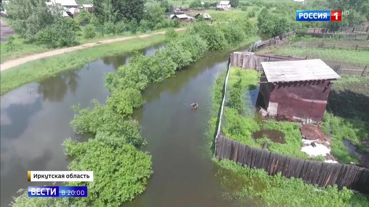 Паводок в Иркутской области: ситуация остается катастрофической