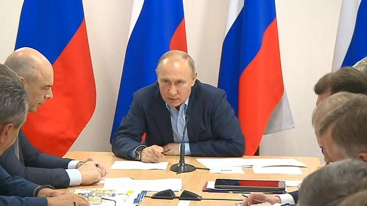 Совещание по ликвидации последствия паводка в Иркутской области