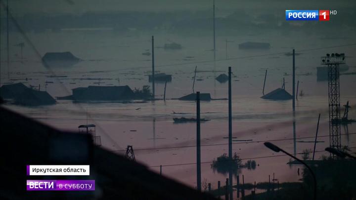 Из-за паводка жители Иркутской области больше суток просидели на крышах