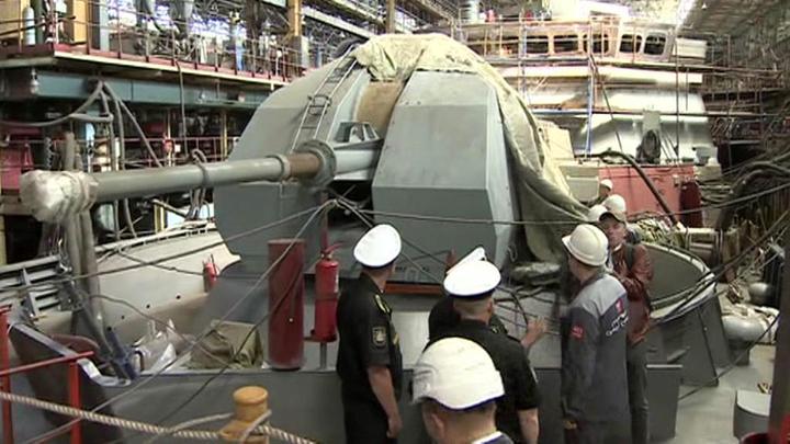 На Дальнем Востоке заложили сразу два ракетных корабля