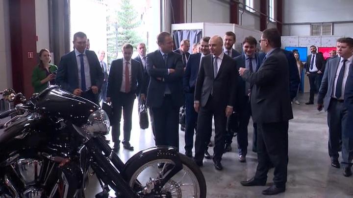Антон Силуанов посетил с рабочим визитом Пермь