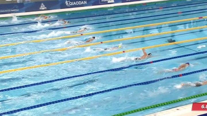 В третий день Универсиады в Неаполе россияне завоевали девять медалей