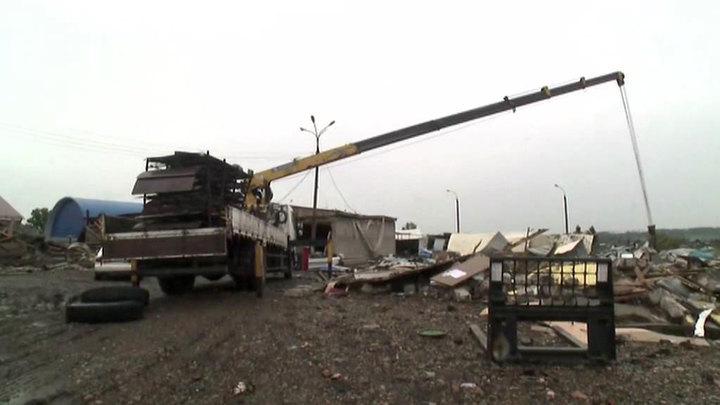 Военные планируют завершить восстановительные работы в Иркутской области через две недели