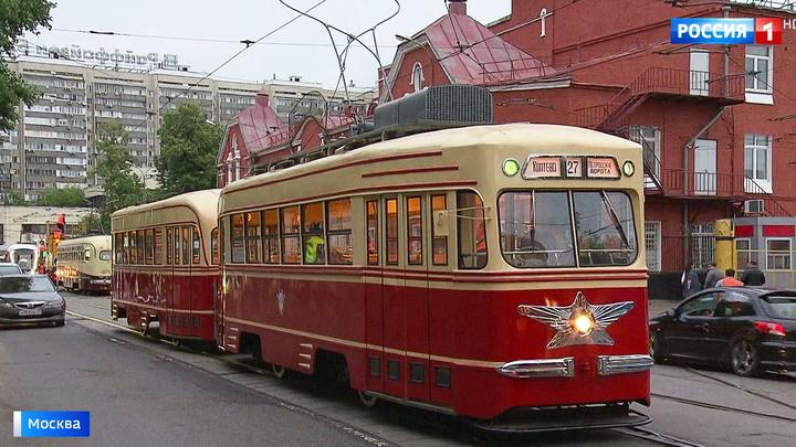 В столице прошла репетиция парада трамваев