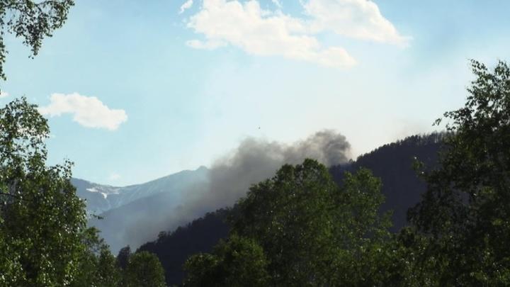 Пожары в Иркутской области: населенным пунктам ничто не угрожает