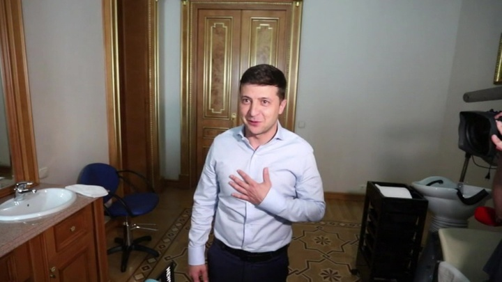 В офис Владимира Зеленского пришли с обысками