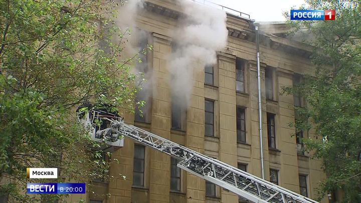 Пожар в хранилище РГАЛИ: рукописи не сгорели