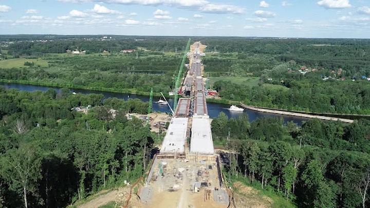 Москва наводит мосты. Специальный репортаж Дмитрия Щугорева