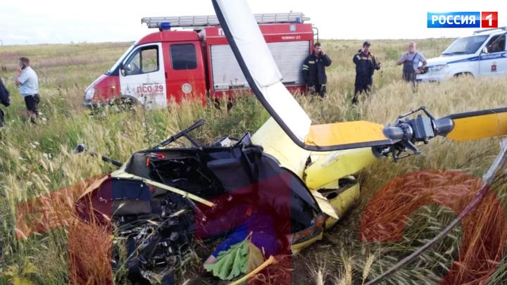 Расследовать крушение вертолета в Подмосковье будет спецкомиссия МАК
