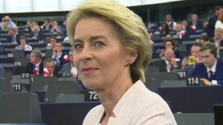Женщина-министр обороны ФРГ возглавит Еврокомиссию