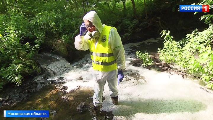Река превратилась в сточную канаву: в Подольске назревает экологическая катастрофа