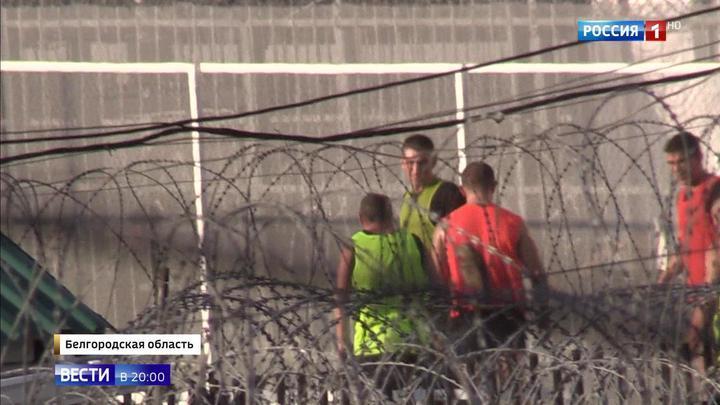 Тренировка за решеткой: от Кокорина и Мамаева ждут футбольных побед в колонии