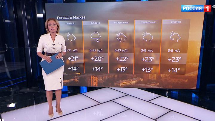 Дожди не хотят уходить из Москвы