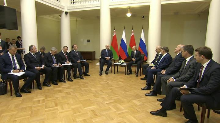 Переговоры Путина и Лукашенко нацелены на углубление интеграции между странами