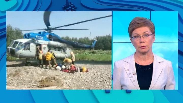 """""""Погода 24"""": распространению пожаров в Сибири и Якутии помогают жара и сильный ветер"""