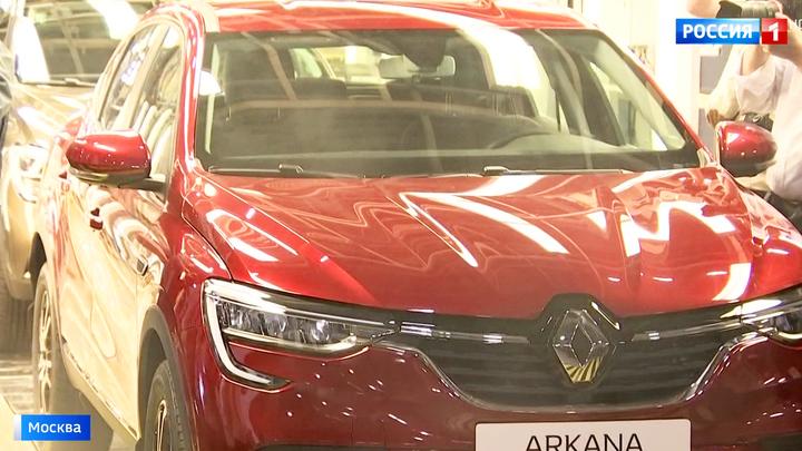 В Москве запустили производство нового кроссовера Renault Arkana