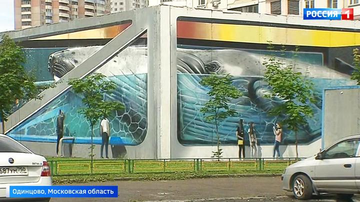 В Одинцове пройдет крупнейший в мире фестиваль граффити