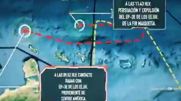 Американский самолет-разведчик вторгся в воздушное пространство Венесуэлы
