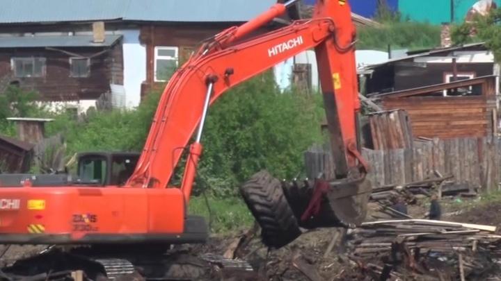 В Тулуне завершена работа по разбору завалов