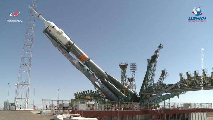 Международная команда астронавтов отправится с Байконура на МКС