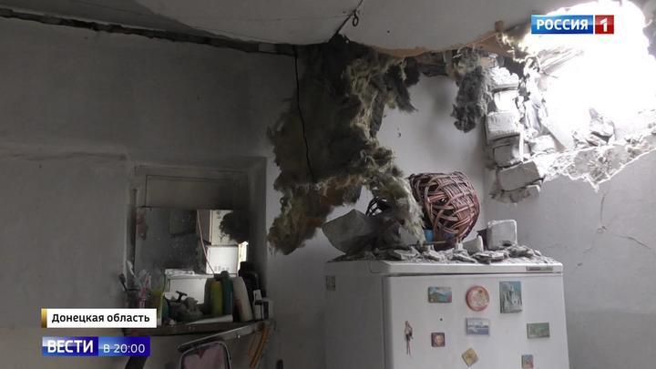 Перемирие в Донбассе: ВСУ бьют прямо по жилым домам