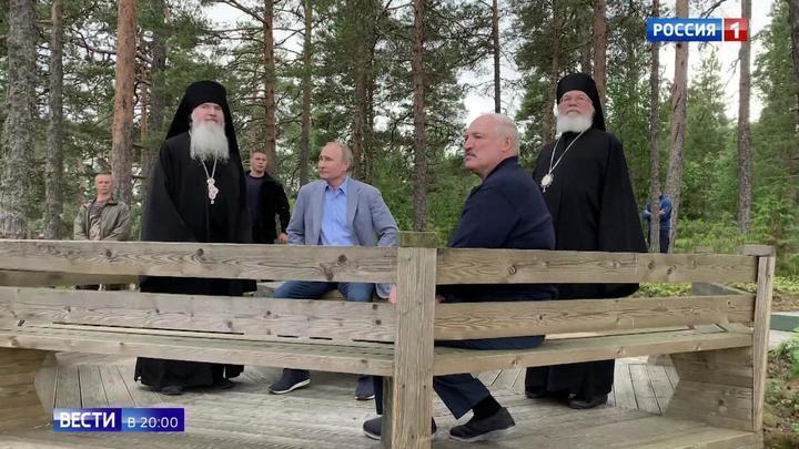 Путин показал Лукашенко Валаам