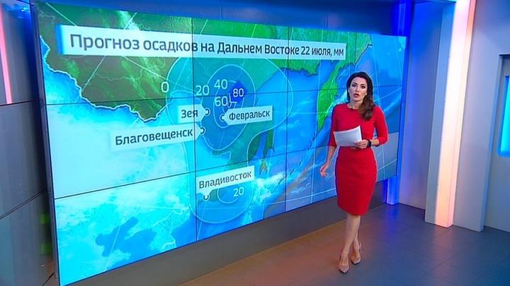"""""""Погода 24"""": сколько еще будет заливать Дальний Восток?"""