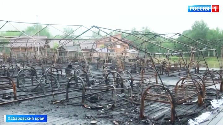 Четверо погибших: дети из сгоревших палаток спасались обогревателями от холода