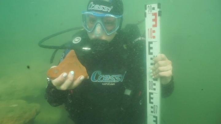 Все в первозданном виде: археологи из Эрмитажа исследуют затопленную Акру